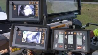 Wirtgen W210i operators view.