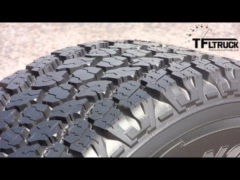 New Goodyear Wrangler Pickup Tire Tech Demo Youtube