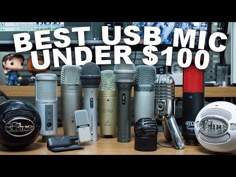 Best USB Microphone Under $100 (Oct 2016)