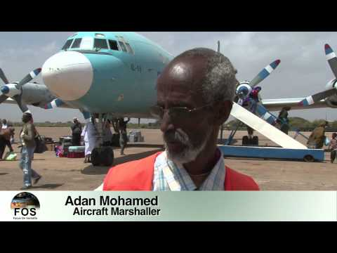 Focus on Somalia: AIRCRAFT MARSHALLER EP. 32