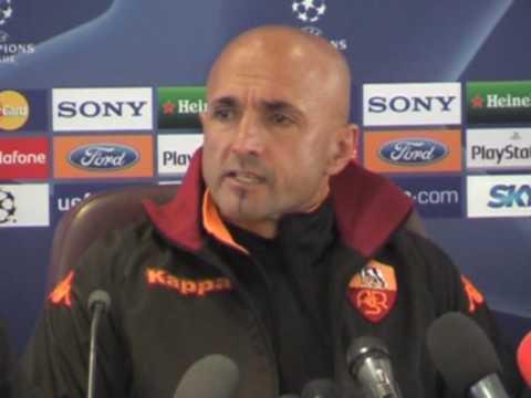 1^a Parte Conferenza Stampa Roma-Arsenal di Luciano Spalletti