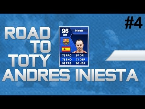 Fifa 13 | UT | Road To TOTY Iniesta | Great Profits! | #4