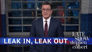 What Happens In The White House, Leaks From The White House