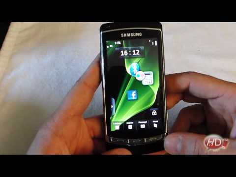 Samsung Omnia HD Video recensione: LINGUA ITALIANA parte 1