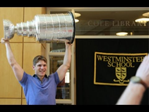 Chicago Blackhawks Ben Smith Brings Stanley Cup Home to CT