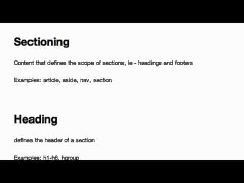 Download  Content Models in HTML5 Gratis, download lagu terbaru