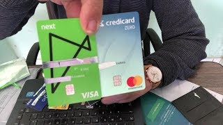 Credicard Zero ou Next Visa Internacional, qual o melhor?