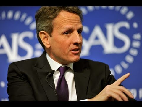U.S. Treasury Secretary Timothy Geithner Spoke at SAIS on January 12