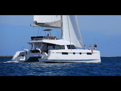 Nautitech 46 Fly catamaran walkthrough at Cannes 2016