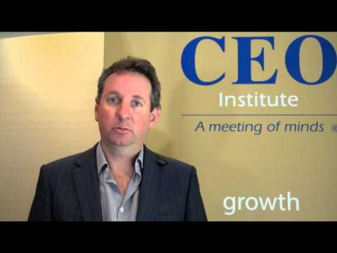 The CEO Institute Summit 2016 - NSW - Innovation - The Competitive Necessity - Rodney Paesler