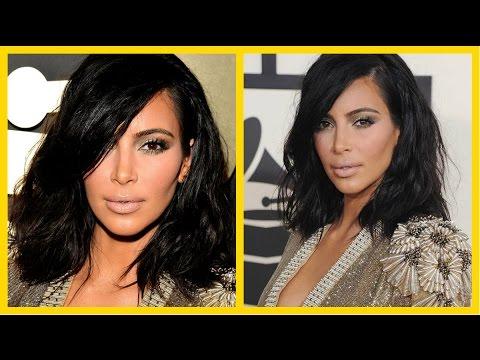 Grammys 2015 Kim Kardashian Makeup Tutorial GRWM