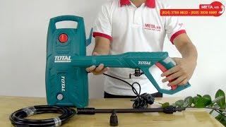 Máy phun xịt rửa áp lực cao Total TGT1131 giá rẻ, công suất lớn, mới nhất hiện nay
