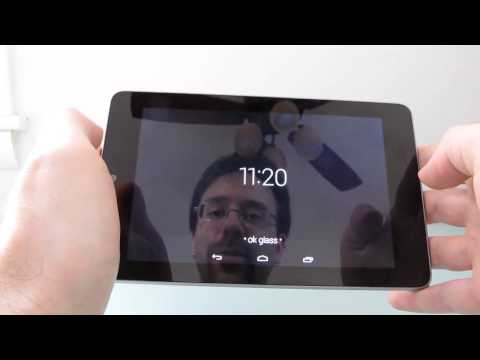 Google Glass apps on the Nexus 7