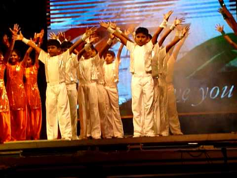 Srinivas Bharat - Patriotic Song From Vaibhav 2011  Lakshmi Garden School, Vellore, India. video