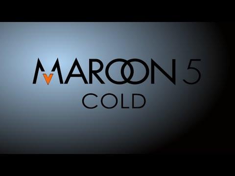 Cold - Maroon 5 (Lyrics on Screen)