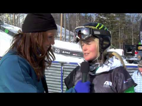 Sarah Burke * Winter Dew Tour * Mount Snow Vermont