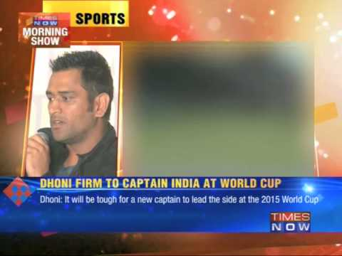 Mahendra Singh Dhoni clears retirement talk