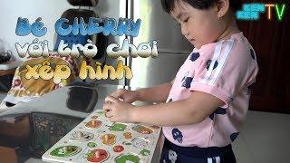 Bé Cherry với trò chơi xếp hình - Little Cherry with puzzle game
