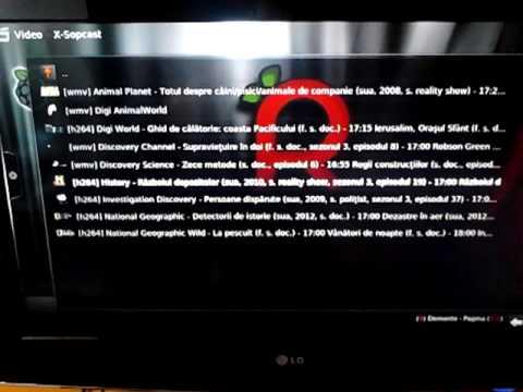 Raspberry Pi Raspbmc X-sopcast