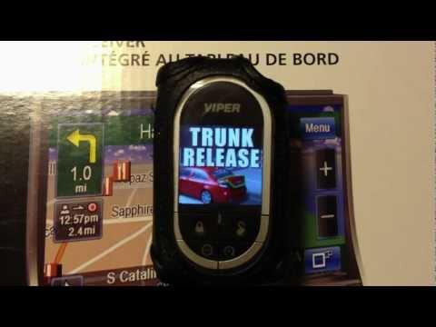 Viper 5902 Remote Start System Responder HD Demo Mode Test