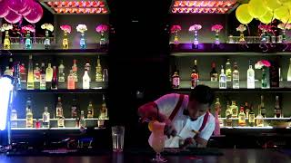 HIRA RANA-DURING BARTENDER'S COMPETITION