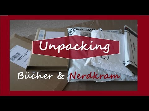 [Unpacking] Bücher & Nerdkram | Game of Thrones, Kostüm fürs MPS , Der neue Walter Moers,...