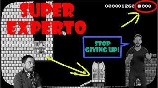 Siempre Lucha hasta el Final Super experto #11 Super Mario Maker