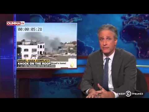 Quand Jon Stewart se moque des frappes en Israël et à Gaza