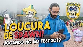 CAPTURANDO O JIRACHI | GO FEST CHICAGO 2019| Pokémon GO
