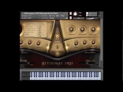 8Dio 1928 Legacy Steinway Piano Demonstration