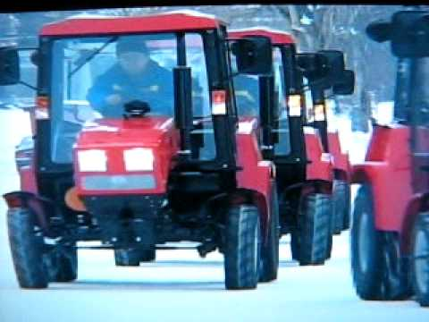 Mini tractor Belarus 320 price 10000 Euros made in Tula. Russia TT71.RU