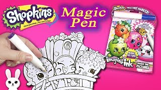 diy shopkins imagine ink coloring book with surprise pictures - Imagine Ink Coloring Book