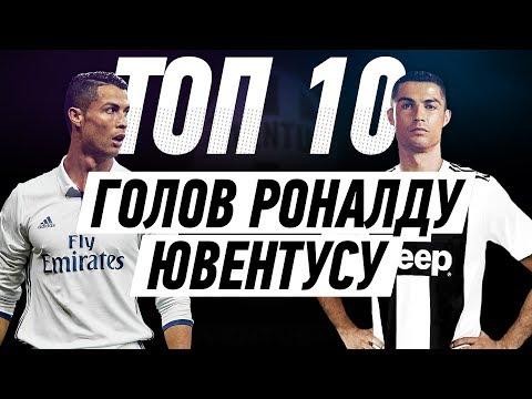 ТОП 10 ГОЛОВ РОНАЛДУ ЮВЕНТУСУ