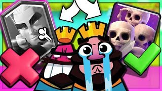 NO LEFT CARDS?! NEW 'MAGIC ARCHER' GAMEPLAY! (Clash Royale Update)
