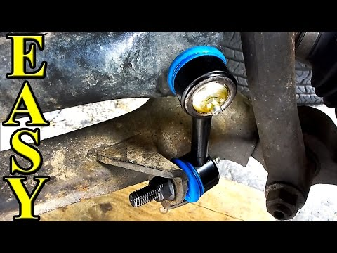 How to Replace Sway Bar End Links