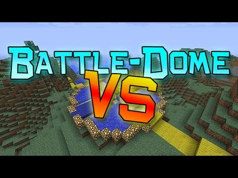 Minecraft: Battle-Dome VS Part 1! The Pack Challenge! (PVP Mini-Game)
