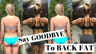 Say GOODBYE To Back FAT Workout For Women