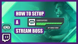 How to setup Streamboss / Bit boss with Streamlabs