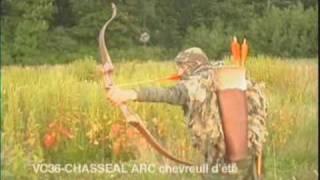 Chasse à l'arc au chevreuil