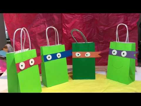 TMNT Birthday Party Ideas Cheap & Easy