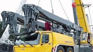 Grove GMK six-axle mobile cranes - Mega Wing Lift
