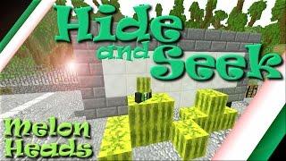 """Melon Heads"" | Minecraft | Hide and Seek | The Hive | RadioJh Games | SallyGreenGamer"
