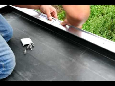 Dakprofielen plat dak