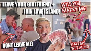 WHAT WOULD YOU DO FOR £1000 CHALLENGE VS MY DAD!!