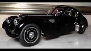 1/18 1938 Bugatti Type 57 SC Atlantic LE 1/5000 by CMC  Owner : Ralph Lauren  -  FCaminhaGarage HD
