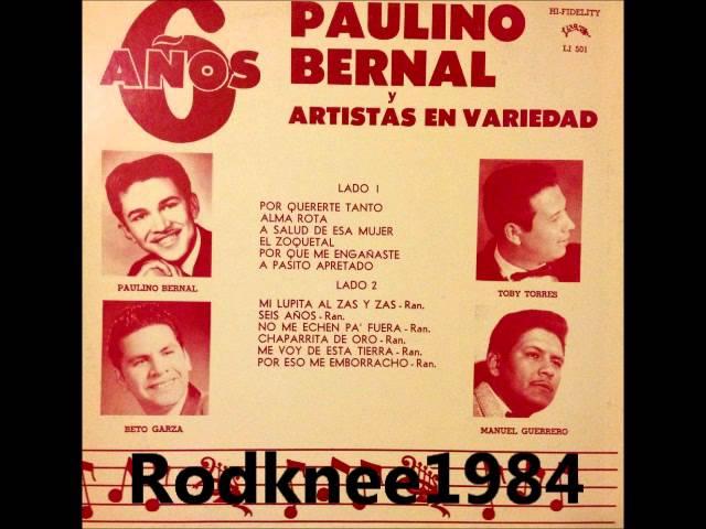 Paulino Bernal Y Los Arcos / Mano A Mano 1960's