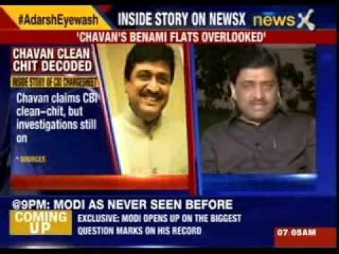 Ashok Chavan's 'Benami' flats overlooked