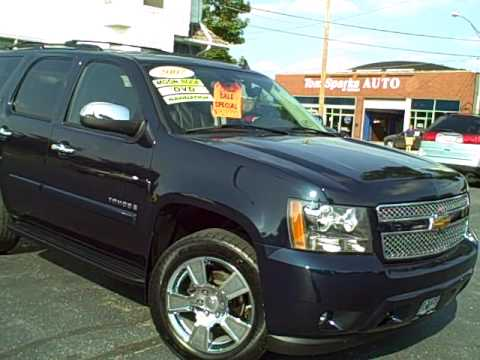 8499b 2007 chevy tahoe ltz navagation in dekalb il near. Black Bedroom Furniture Sets. Home Design Ideas