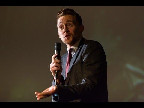 Tom Hiddleston impersonation at Popcorn Taxi: Owen Wilson as 'Loki'.