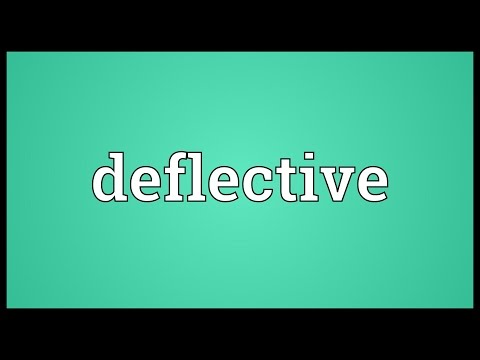 Header of deflective